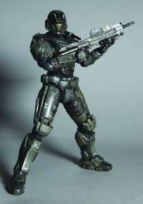 Halo Reach No.1 Noble Six Play Arts Kai Action Figure MIB New Square