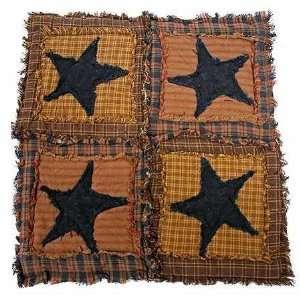 Primitive Homespun Quilt Patchwork Table Square   Size   15x15