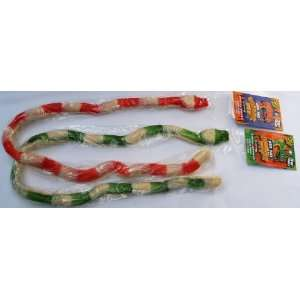 2 of the Worlds Largest Gummy Snakes Candy (3 feet long