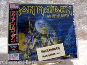 Iron Maiden   Live After Death   Japan OOP 2008   2 CD 724349692107