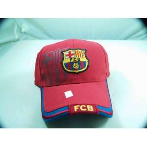 FC BARCELONA OFFICIAL TEAM LOGO CAP / HAT   FCB020 Sports