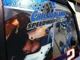 Miller Lite Beer Chicagoland Speedway NASCAR Bar Mirror