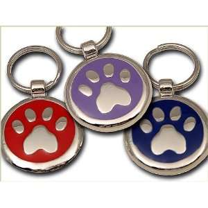 Pet ID Tag   Paw Print   Custom engraved cat and dog ID tags. Jewelry
