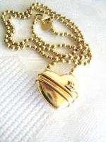 Tiffany & Co 18k Gold Heart PENDANT NECKLACE