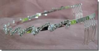 Bridal Homecoming Prom Party Crystal Tiara Headband 26325