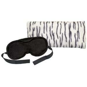 Therapeutic Eye Mask, Black and Eye Pillow, Zebra, Set of 2 Beauty