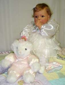 Lee Middleton Doll BEARY CUTE GIRL 20 in. Auburn hair/Brown eyes