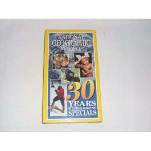 Natl Geo 30 Years of Ng Specials [VHS] Movies & TV
