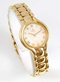 Ebel Beluga 18K Yellow Gold Lady Watch Mother of Pearl