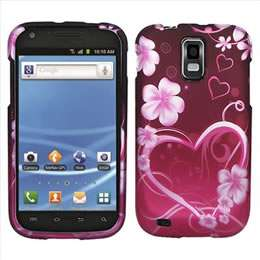 Pink Heart Hard Case Cover for T Mobile Samsung Galaxy S 2 II T989