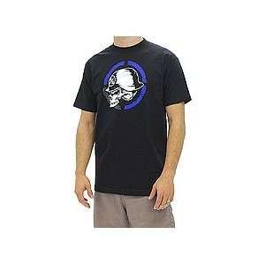 Metal Mulisha Quartered Tee (Black) Large   Shirts 2012