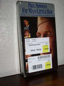 Fat Man and Little Boy   Paul Newman (VHS,1992,NEW) 097363225232