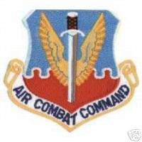 USAF AIR FORCE AIR COMBAT COMMAND ACC AUTHENTIC PATCH