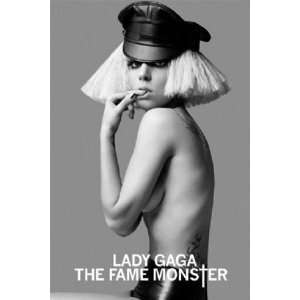 Lady Gaga Fame Monster Pop Music Poster 24 x 36 inches