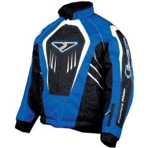 FXR® Cold Cross Snowmobile Jacket, BLACK/BLUE