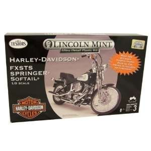 Testors Harley Davidson Softail Model Kit Case Pack 4