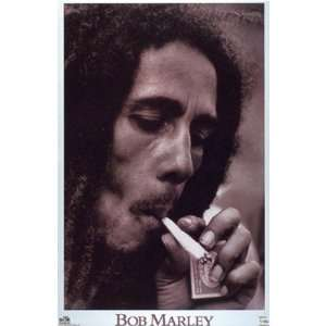 Bob Marley   Smoke Poster Home & Kitchen