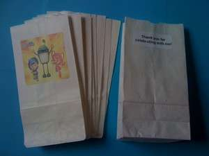 12 Team Umizoomi Party Favor Loot Bags