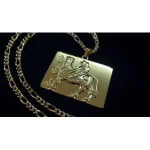Persian Empire Symbol Necklace Iranian Art Faravahar Iran