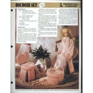 Boudoir Set   Fashion Doll Furniture   (One Design for One