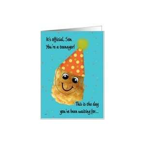 Son 13 Happy Birthday Funny Tater Tot Card Toys & Games