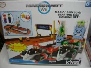 KNEX Mario Kart Wii MARIO & LUIGI STARTING LINE set kit