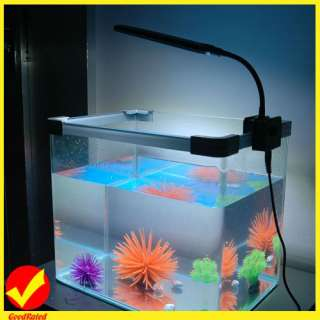 LED Light Saving Energy Aquarium Fish Tank 2 Mode Blue&White Lamp New