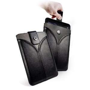 Tuff Luv Veggie Faux Leather Pull Tab Case for Motorola