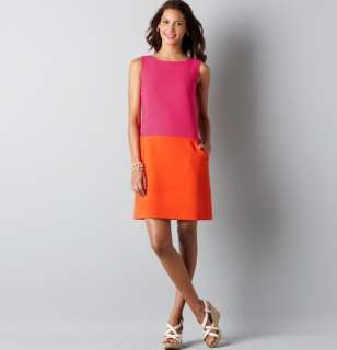 Ann Taylor Loft Colorblock Shift Dress Size 0, 2, 4, 6, 8