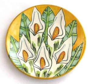 Hand Painted Talavera Mexican Pottery Plate   9