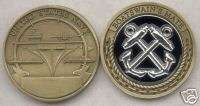 US NAVY BOATSWAINS MATE CHALLENGE COIN 954 D 620 s