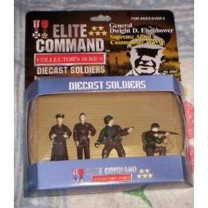 ELITE COMMAND General Eisenhower WWII soldiers DIECAST SOLDIERS