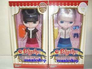 Takara TOMY Neo Blythe Doll Simply Vanilla & Chocolate