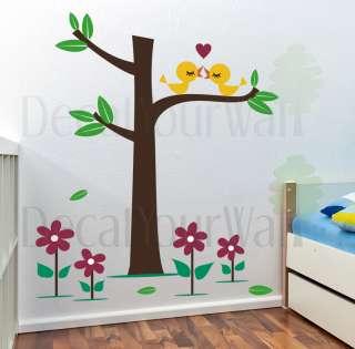 Nursery Baby Kids Room Tree Vinyl Wall Decal Sticker