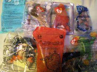 MIXED LOT OF 8 MCDONALDS & TACO BELL TOYS HE MAN
