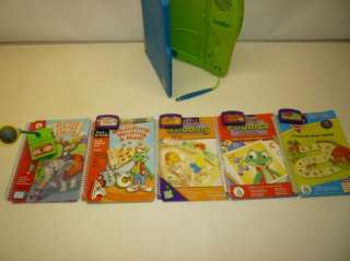 Leap Frog Leapad System 10 Books w/ Cartridges and MIC