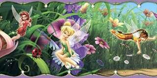 Disney FAIRIES Tinker Bell TINK BORDER/DECOR Wall Paper