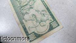 DOLLAR BILL FEDERAL RESERVE NOTE ALLEGORY NOTE RED SEAL BOSTON