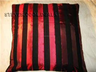 Pillow Cushion Covers Luxury Gold Cream Orange Red Pink