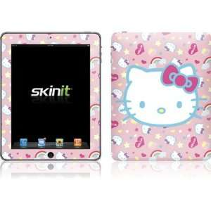 Skinit Hello Kitty Pink, Hearts & Rainbows Vinyl Skin for