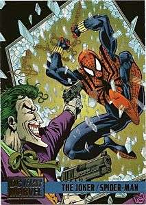 JOKER/SPIDER MAN #78 1995 DC Vs Marvel card Butler