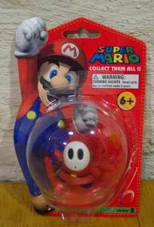 Super Mario Bros SHY GUY Plastic Toy Figure NEW