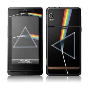 Music Skins MS PFLD20045 Motorola Droid  Pink Floyd  The Dark Side