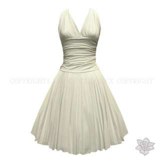 ROCKABILLY MARILYN MONROE FANCY PROM DRESS 8 16
