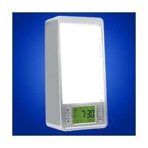 Natural Dawn Simulator Alarm Clock Light Box Health