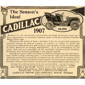 1905 ad pope motor car company 30 hp double entrance for Cadillac motor car company