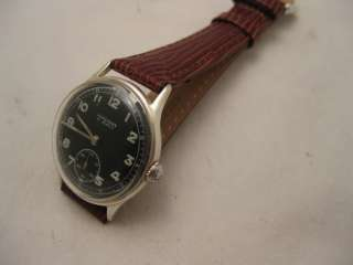 RESTORED 1954 JUNGANS RADIUM DIAL 15 JEWEL JUNGHANS 693 SUB SECONDS