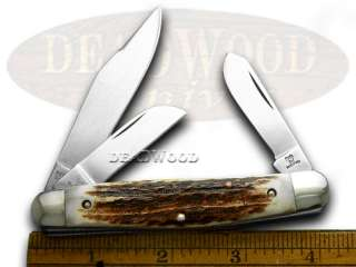 HEN & ROOSTER AND Genuine Stag Stockman Pocket Knives