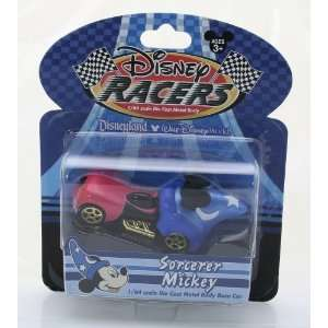 64 Scale Die Cast Metal Body Race Car   Sorcerer Mickey Toys & Games