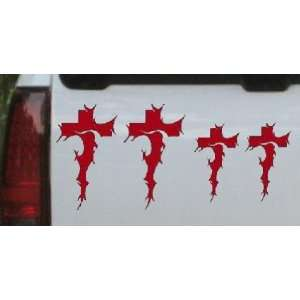 Christian Tribal Cross Stick Family Stick Family Car Window Wall